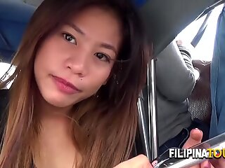 Asian babe likes to fuck hard in all fours after sucking.