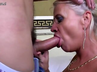 Real mature mom fucked by her toy boy