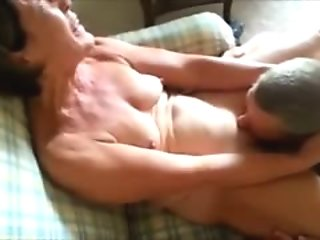 Mature Married Couple having oral sex