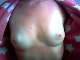 Russian girl show tits, don't face (by jozik)