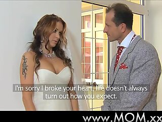 MOM Wife to be get fucked at her wedding