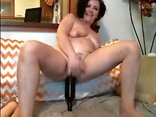 Bottle in pussy and ass - view all sexy movies on my account