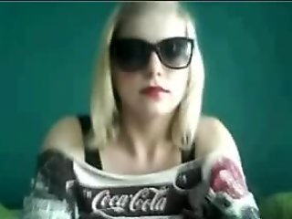Webcamz Archive - Angel With Sunglasses Flashing Chatroulette