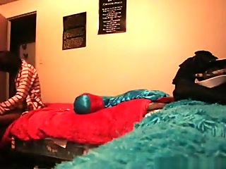Black girl couple homemade sextape