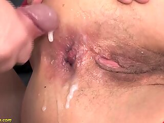 85 years elder granny first-ever ass-fuck sex