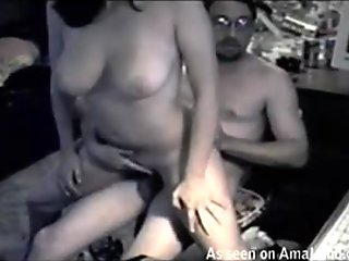 Chick gets fucked in naughty positions