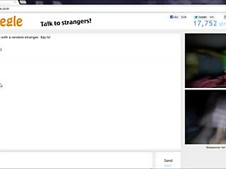 Playing with a sexy girl on Omegle!