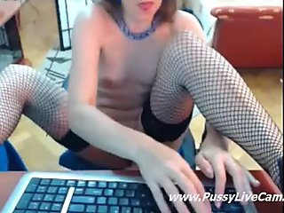 Girl Loves Riding On Dildo And Live Chat Same Time