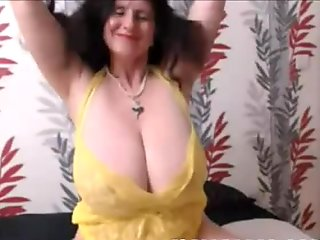 Brunette Mature With Huge Natural Tits