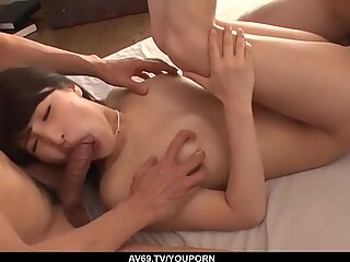 First time handling a huge dick in scenes of home porn - More at 69avs.com