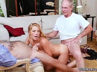 Chinese fat daddy Frannkie And The Gang Tag Team A Door To Door Saleswoman