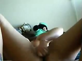Orgasm with a vibrator