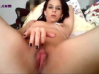 Milf touch her perfect pussy