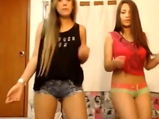 Three Hot Latina Lesbians On Webcam