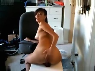 Exotic Webcam clip with Asian, Masturbation scenes