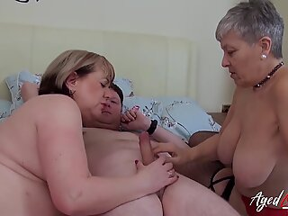 AgedLovE Hardcore Fuck with Huge Mature Boobs