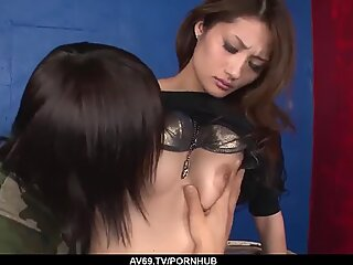 Army man fucks her hairy cunt then cums in her mouth - More at 69avs com