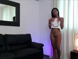 Fucking Gorgeous Black Ebony Babe - fatbootycams.com