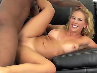 Webcam babe Cherie Deville interracial fucks