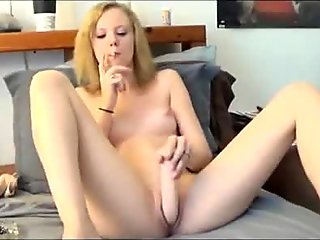 Lonely HouseWife Fucks Her Pussy