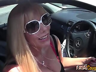 Mature Blonde Fucked in Doggystyle