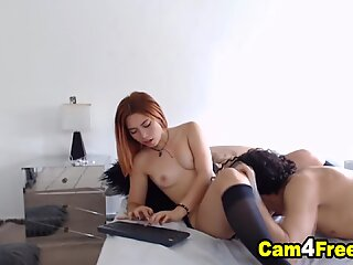 Gorgeous College Babe Gets Pussy Drilled By Classmate