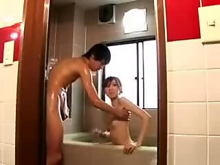 Japanese Bath Ceremony on Cam by snahbrandy